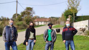 Energia arloan inbertsioak egin dituzten Etxarri, Uitzi, Astitz eta Aldazko Kontzejuetako kideak.